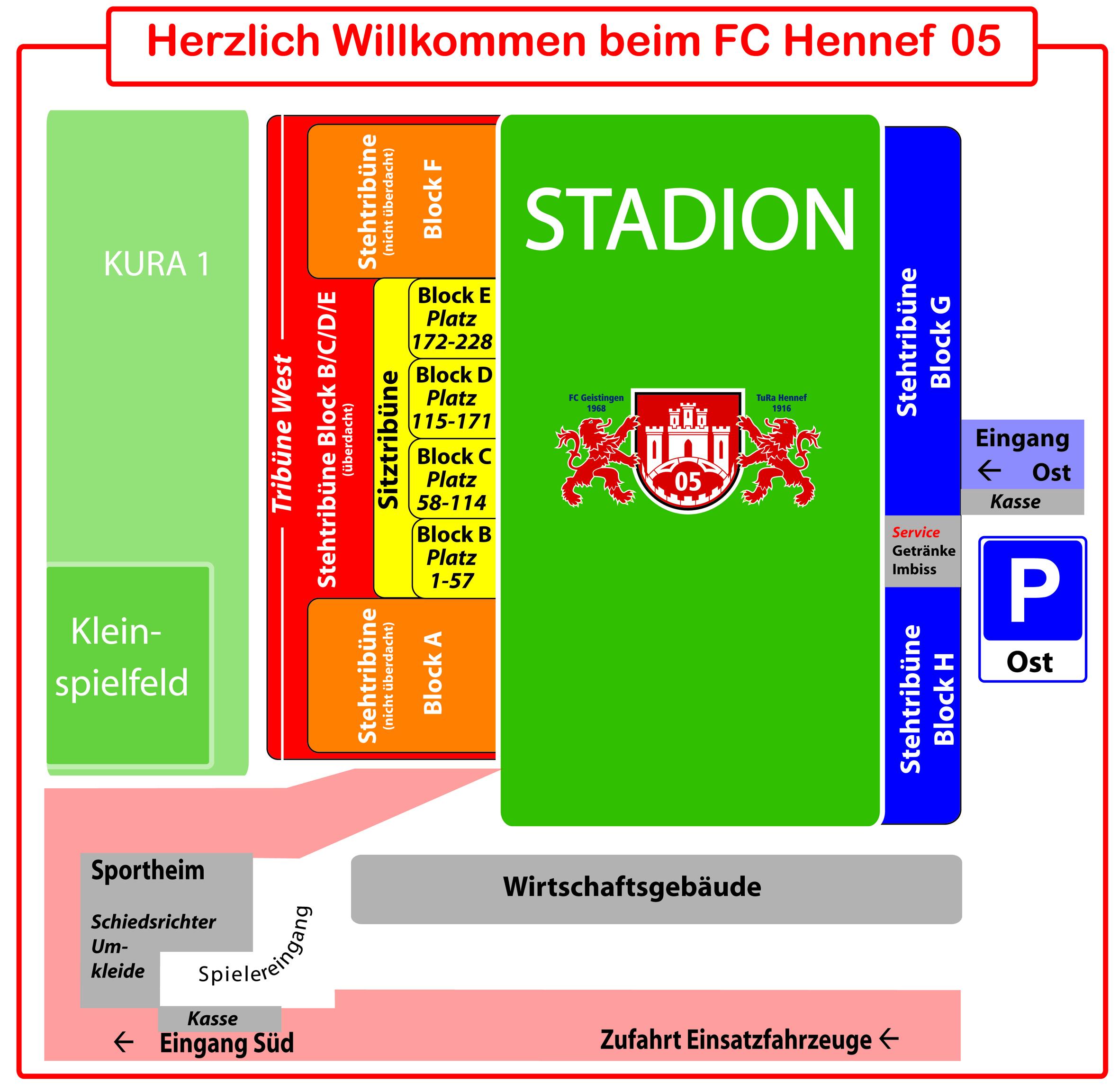 Stadionzeichnung