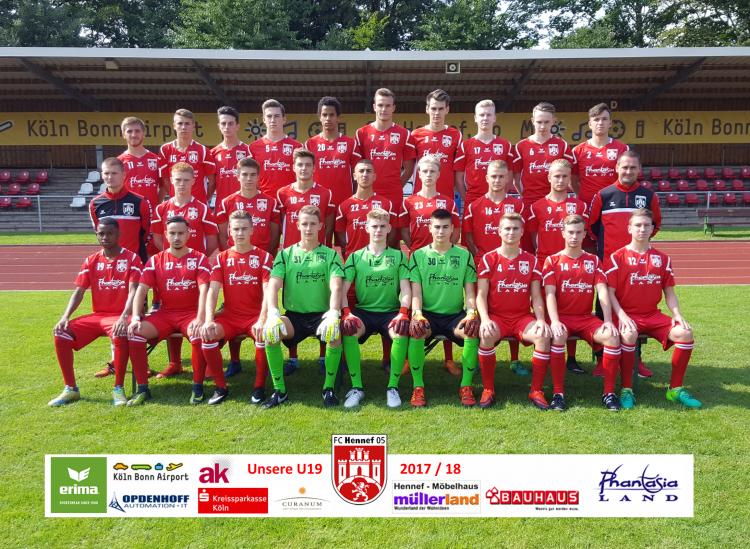 Unsere U19 - Saison 2017/18